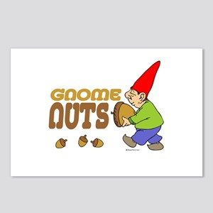 Gnome Nuts ~  Postcards (Package of 8)